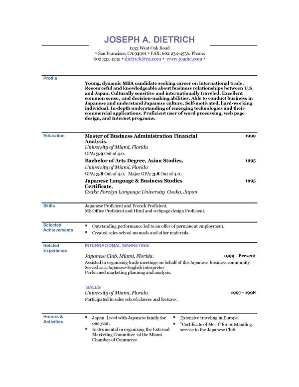 download resume template free resumes templates cyberuse 21411 | free resume templates to download