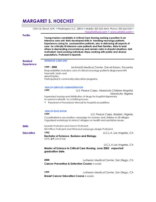 Examples Of Resume Profile,profiles good resume profile examples ...
