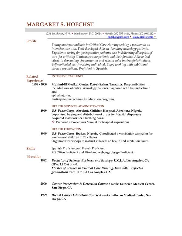 job resume templates examples .