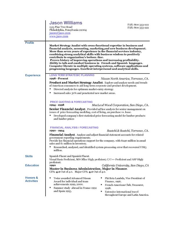 Resume Monster Experience Planner Cover Letter Sample Template ...